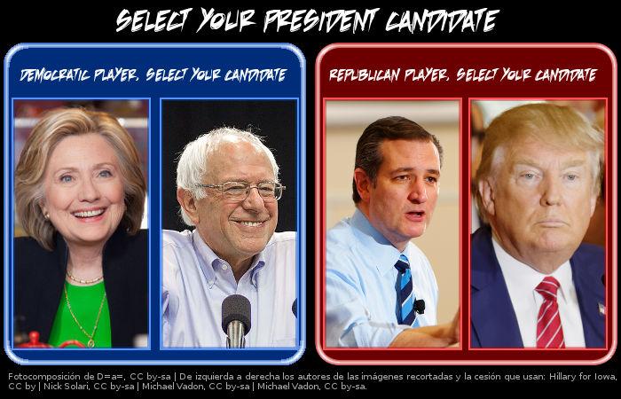 Trump, Sanders, Hillary, Cruz y Rubio, ¿honestos o transparentes?
